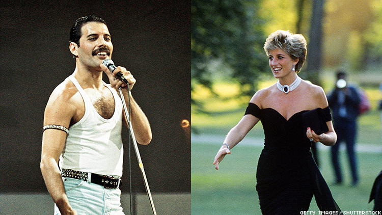 Freddie Mercury once dressed Princess Diana in drag so she could visit historic landmark and gay bar Royal Vauxhall Tavern