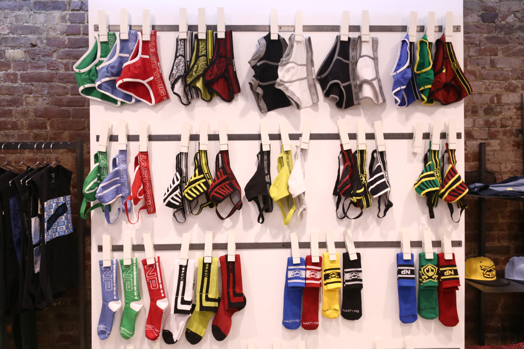 05   Underwear Wall At 259 West 19th