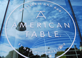 Stockholm INSET America Table Window