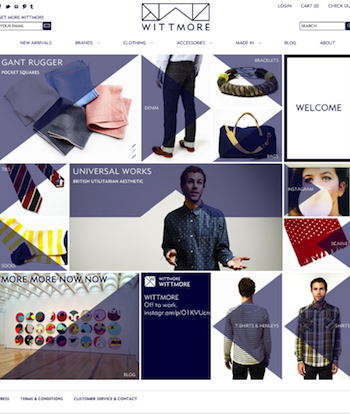 WITTMORE UniversalWorks Hompage