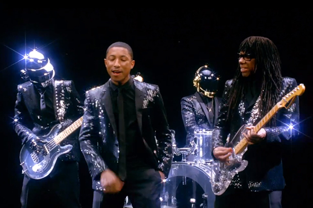 Daft Punk Featuring Pharrell Nile Rodgers Get Lucky Video Preview 0 1