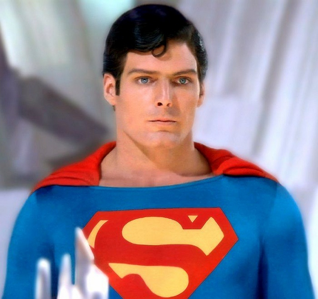Christopher Reeve As Superman 640x602