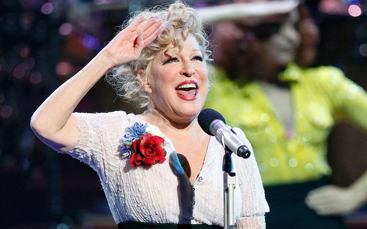 Bette Midler Singing