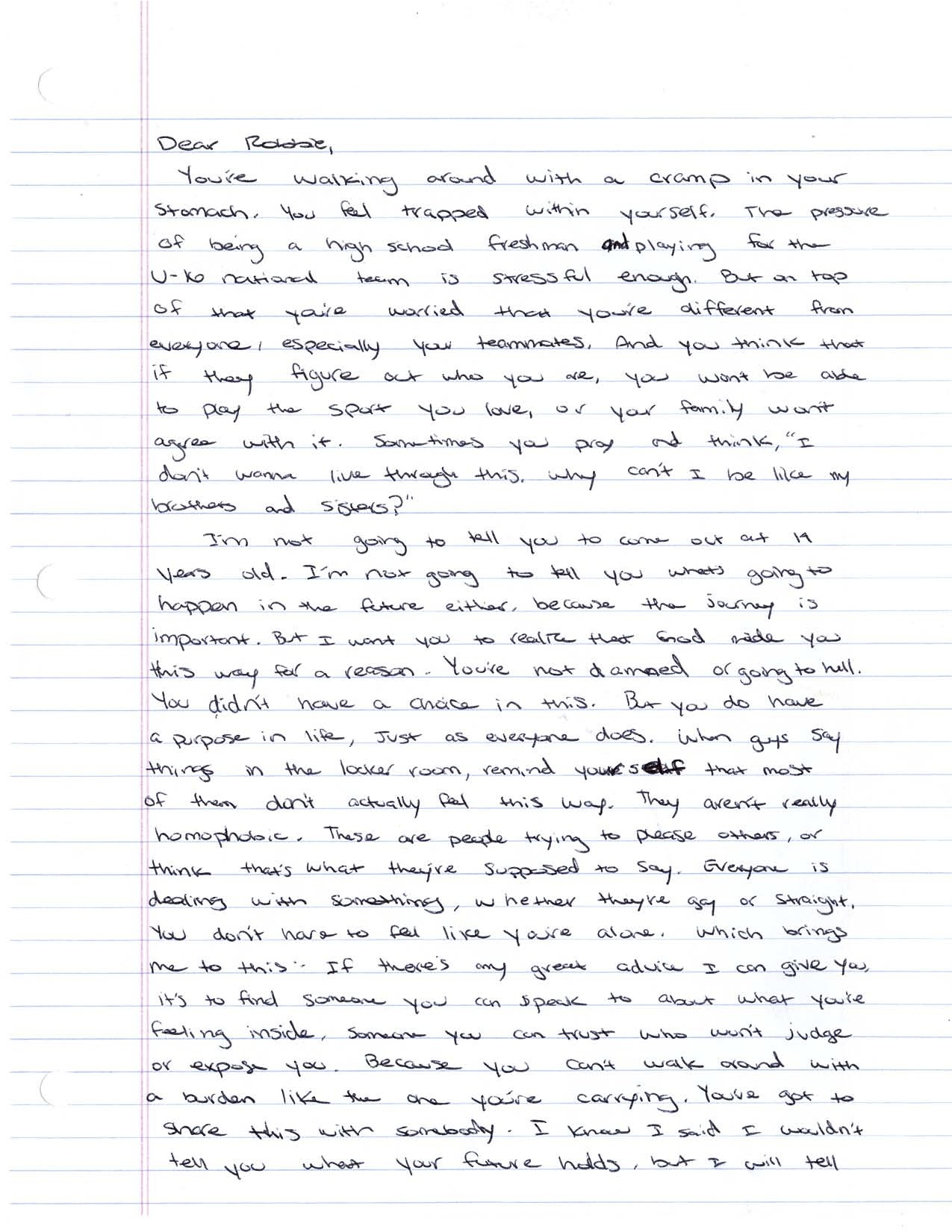 Robbie Letter1