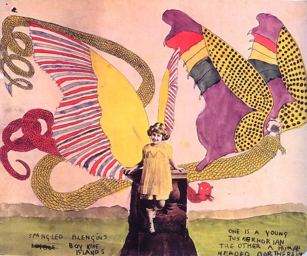 Henry Darger CollageGirlBlengin