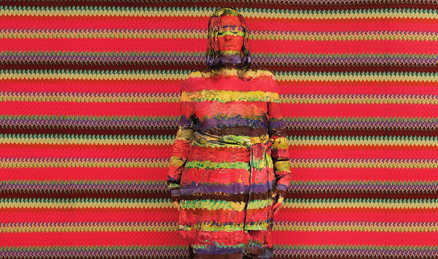 Liu Bolin Missoni Portrait