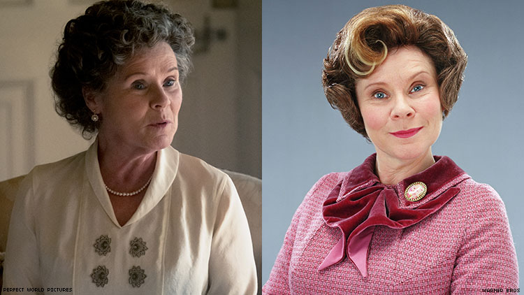 Imelda Staunton Says Dolores Umbridge Would Fit in at 'Downton Abbey'