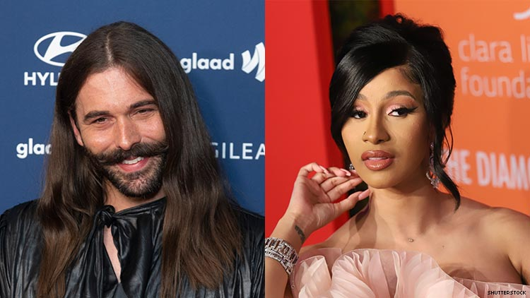 Jonathan Van Ness Asked Cardi B to Apologize for Her AIDS Comments