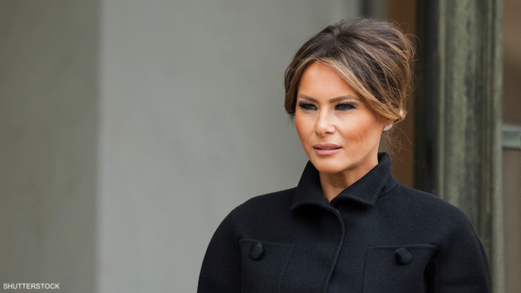 Melania Trump Is a Perfectly Manicured Hypocrite