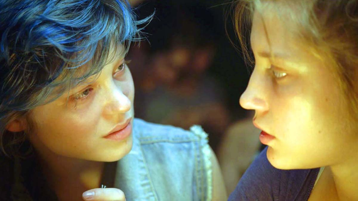 Blue Is The Warmest Color Lesbian Movie Adele Exarchopoulos Lea Seydoux
