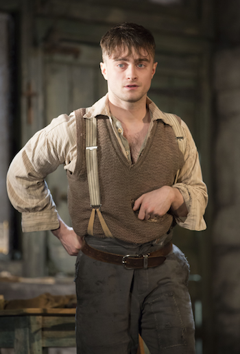 Daniel Radcliffe Cripple Broadwayx350