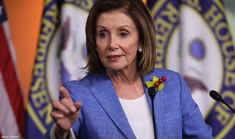 Nancy Pelosi Calls For Impeachment Inquiry Into Donald Trump