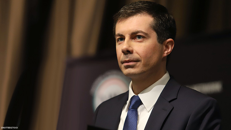 Pete Buttigieg's Mom Worries About Son's Safety After Hate Mail
