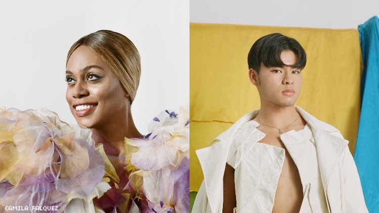 Laverne Cox and Chella Man Cover 'Out' Feb/March 2020
