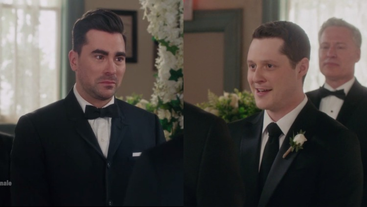 Patrick and David getting married on Schitt's Creek