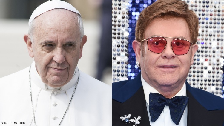 The Vatican Helped Fund Sexy, R-Rated Elton John Biopic