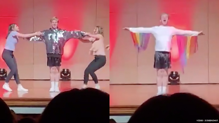 Student Comes Out to Christian College During Taylor Swift Lip Sync