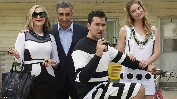 'Schitt's Creek' Is Putting the Show's Clothes On Sale This Week