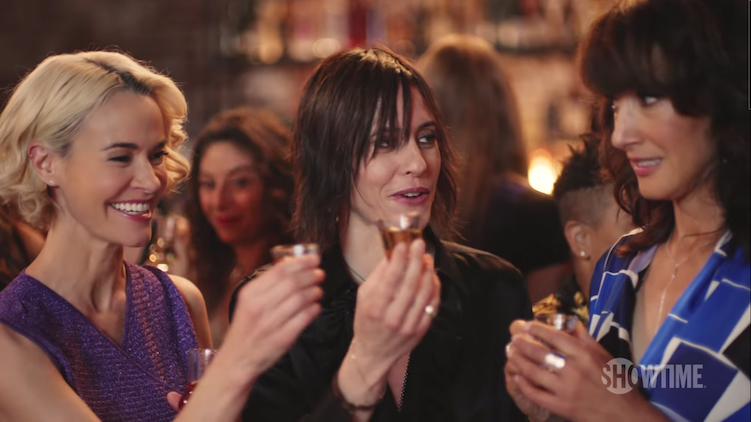 Alice, Shane and Bette in The L Word