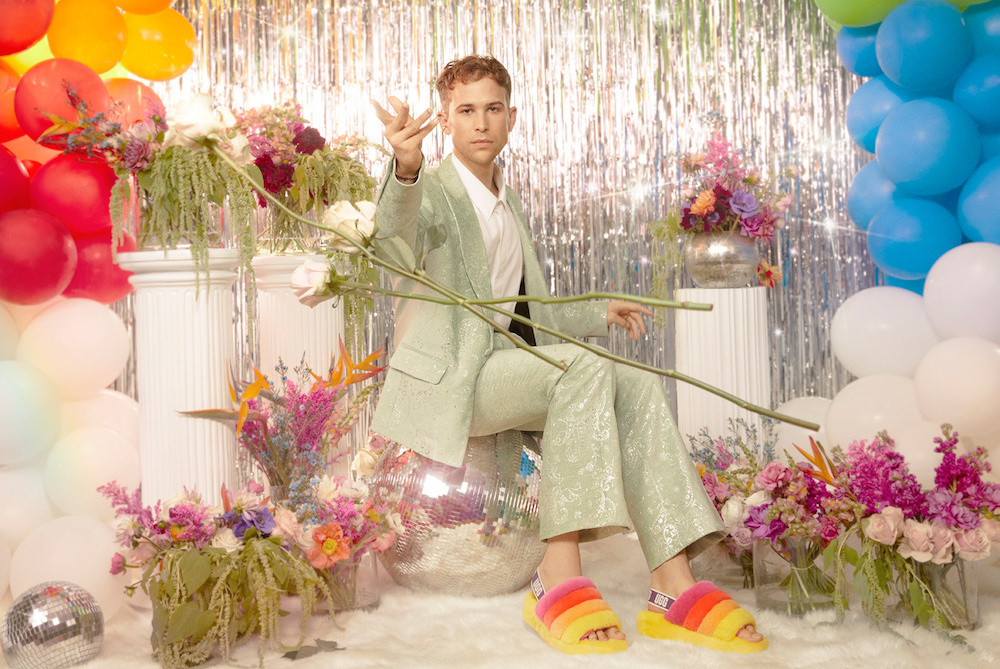 Tommy Dorfman for Ugg Pride collection