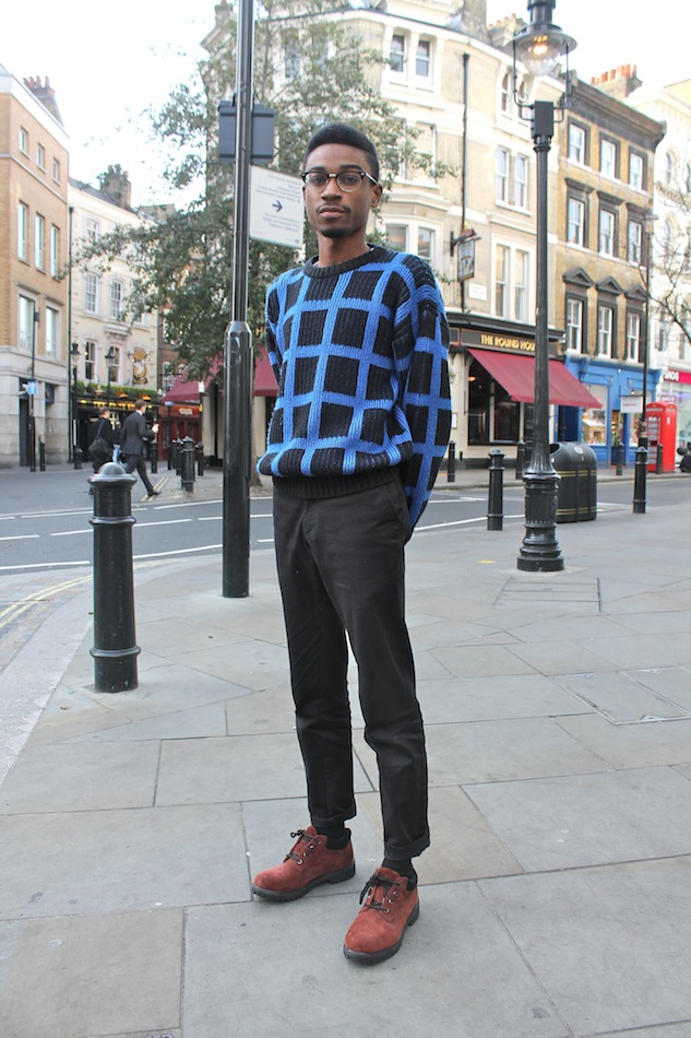 London Street Style Statement Sweater 1