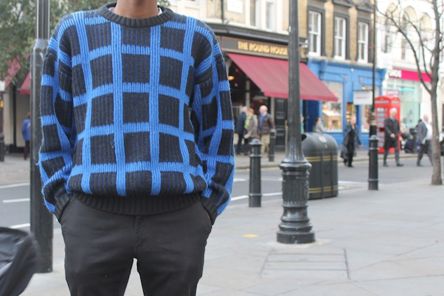 London Street Style Statement Sweater 2