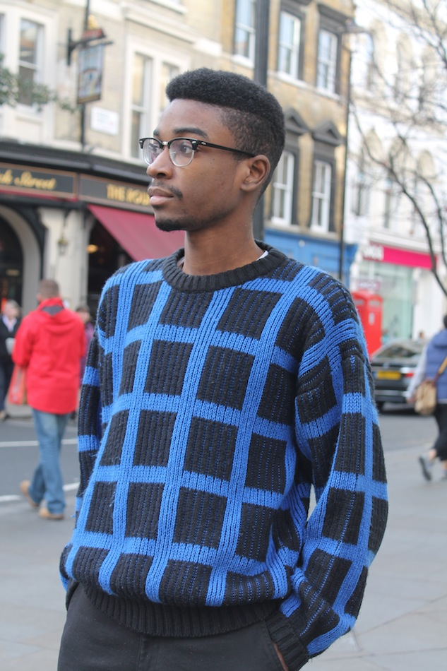 London Street Style Statement Sweater 3