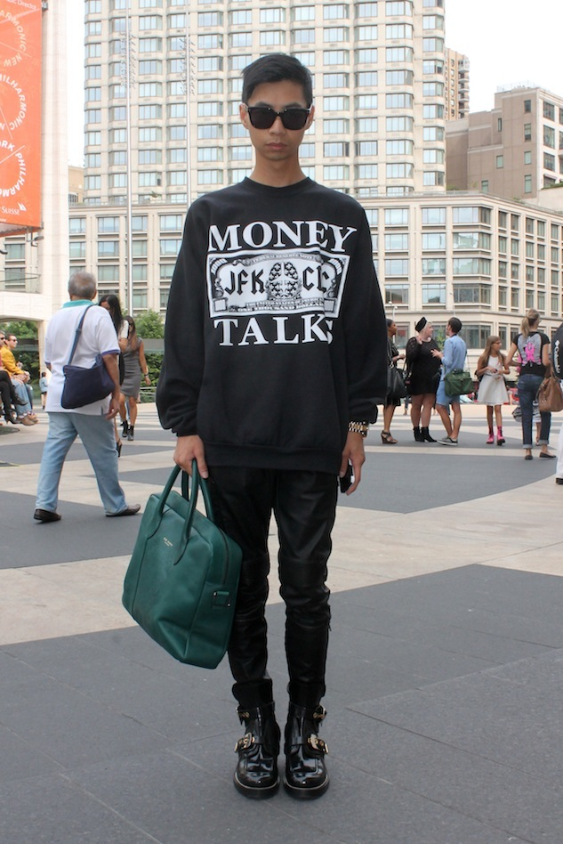 Fashion Week Street Style Mybelonging Andrew Villagomez 1