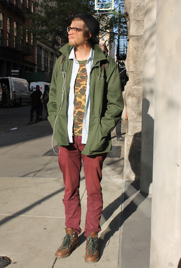 Rugged City Street Style Andrew Villagomez 1