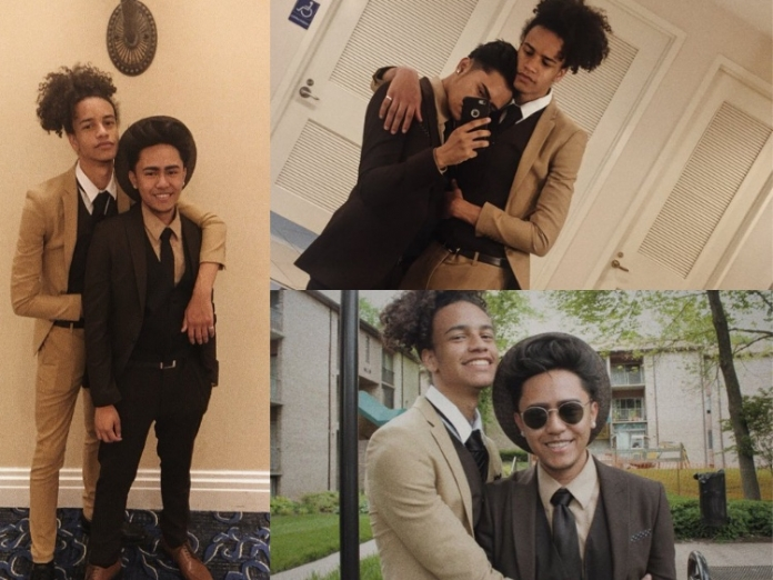 Teen Lives His Best Life, Takes Boyfriend to Prom Behind Parents' Backs