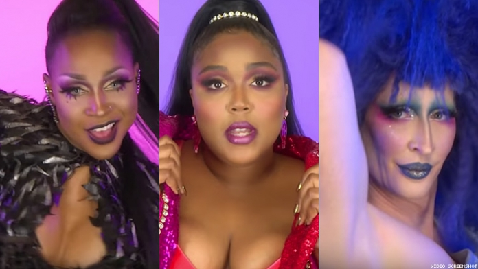 Lizzo Just Dropped a Music Video with All Your Favorite Drag Queens