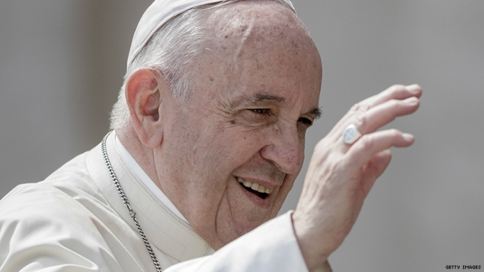 "The Pope Said Those Who Discard Gay People ""Don't Have a Human Heart"""