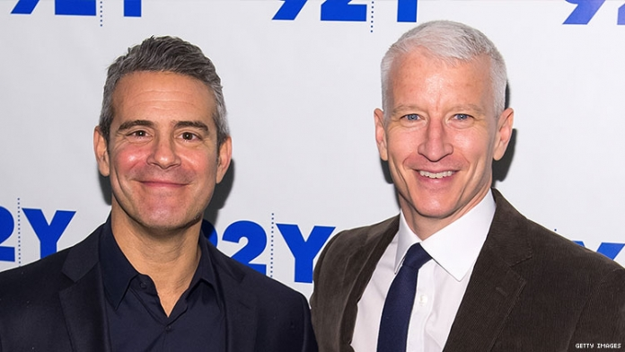 Anderson Cooper Throws Shade at Andy Cohen Over Politics
