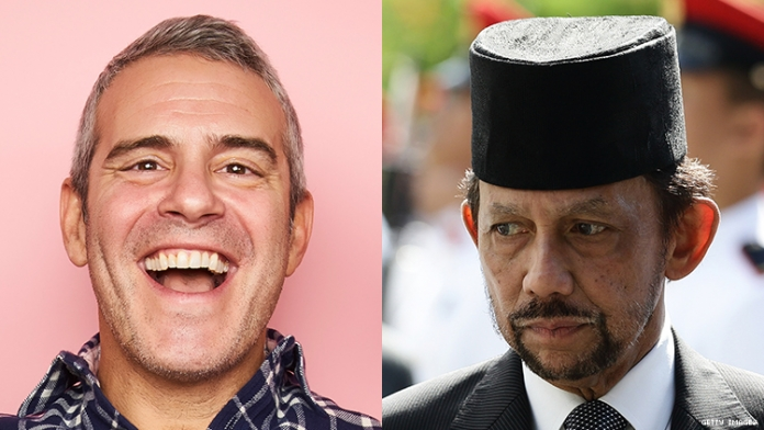Andy Cohen Thinks We Should Film Gay Porn in Brunei-Owned Hotels
