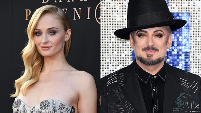 Sophie Turner Wants to Play Boy George in a Biopic