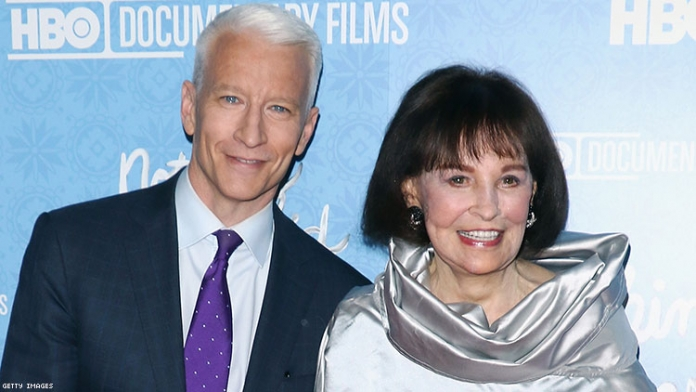 Anderson Cooper Will Inherit His Mother's $200 Million Fortune