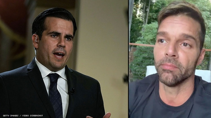Ricky Martin Is Going to Puerto Rico to Demand the Governor Resign
