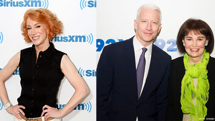 Kathy Griffin Says She Knew Anderson Cooper's Mother Better Than Him