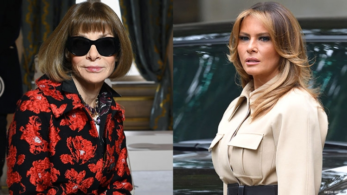 Anna Wintour Just Shaded Melania Trump Like the Icon She Is