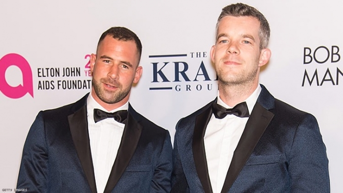 Russell Tovey Reunited with Ex-Fiancé Steve Brockman