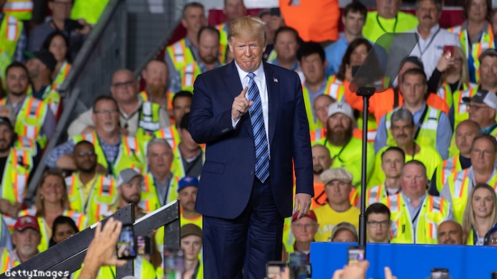 Shell Workers Forced to Attend Trump Rally or Lose Pay