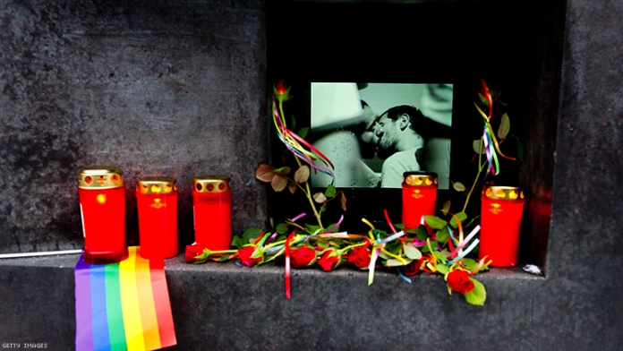 A Memorial to LGBTQ+ People Killed By Nazis Was Vandalized