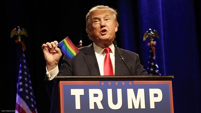 Donald Trump Is a Gay Icon in His Own Mind