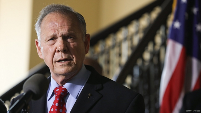 Roy Moore Is Back and Still Mad About LGBTQ+ People