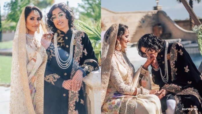 This Indian-Pakistani Lesbian Marriage Gave Us All the Feels