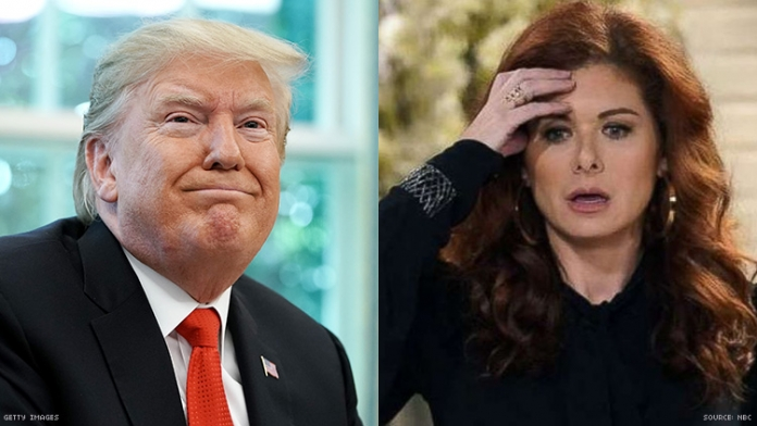 Trump Wants Debra Messing Fired From 'Will & Grace'
