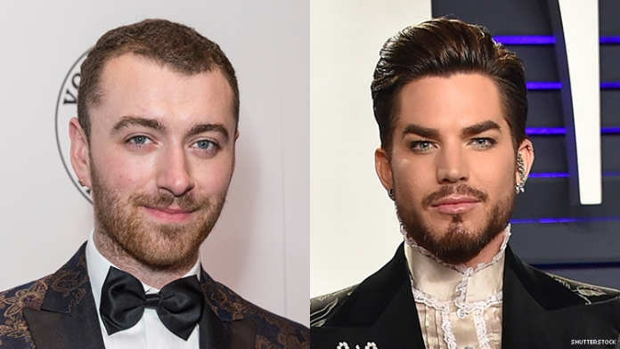 Adam Lambert Applauds Sam Smith for Coming Out as Nonbinary