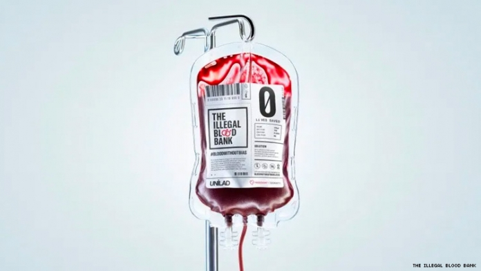 """""""Illegal Blood Bank"""" Will Accept Blood Donations From Gay Men"""