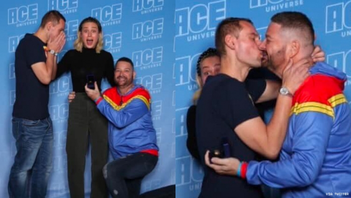 Brie Larson Witnessed a Gay Proposal at Comic Con