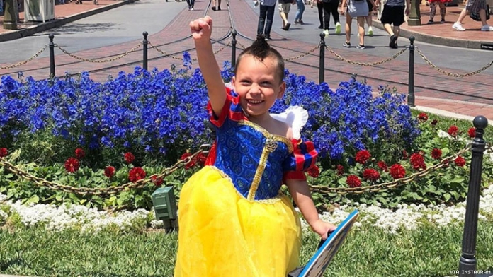 This Autistic Four-Year-Old Boy Loves Being a Disney Princess